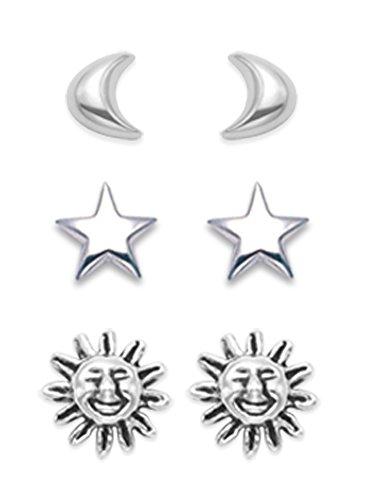 G/&S SG Lot de 5 Breloques en Argent Sterling 925 pour Fabrication de Bijoux