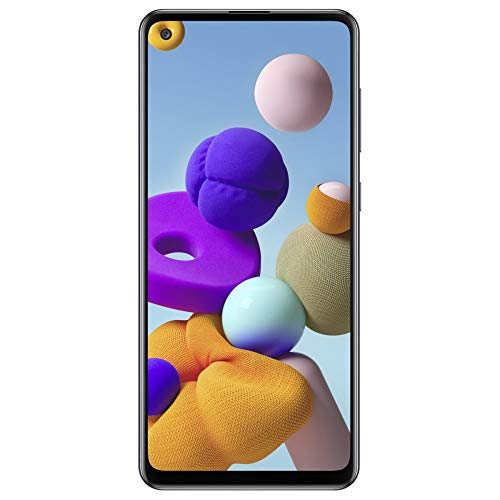 Samsung A217F Galaxy A21s 32 GB (Black) ohne Simlock, ohne Branding, Schwarz, SM-A217FZKNEUB