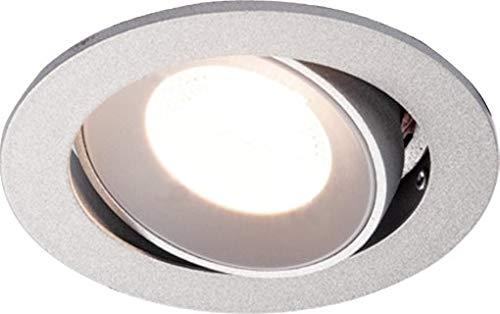 HEITRONIC LED EINBAUSTRAHLER SR68 CHROM MATT 4,8W WARMW