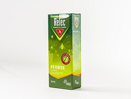 RELEC Fuerte sensitive repelente insectos vaporizador 75ml