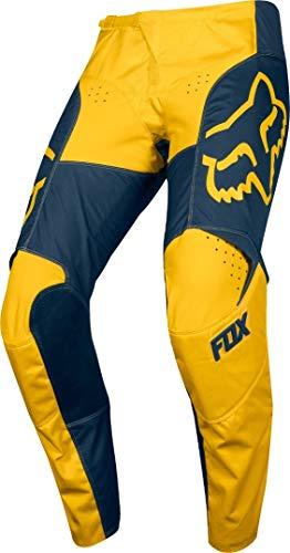 Fox Hose 180 Przm Navy/Yellow, Größe 32