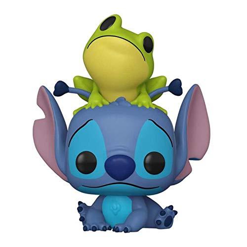 Funko pop Lilo and Stitch Stitch with Frog