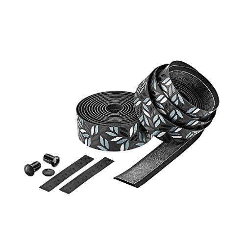 CICLOVATION Premium Bar Tape w/Leather Touch 2.5mm Rainforest Soil for Racing MTB Bike