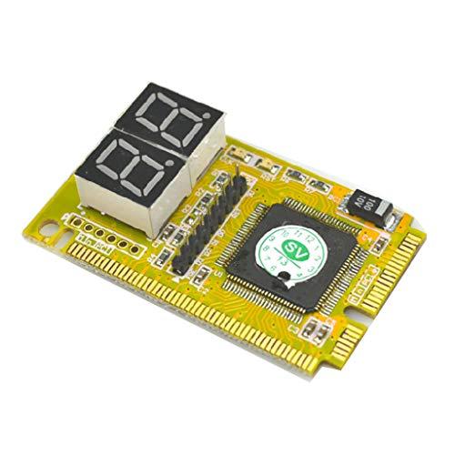 BIlinli 3 in 1 PCI- / PCI-E- / LPC-Mini-PC-Laptop-Analysator-Prüfmodul Diagnose-Post-Test-Karte Elektronische Leiterplatte LED-Anzeige