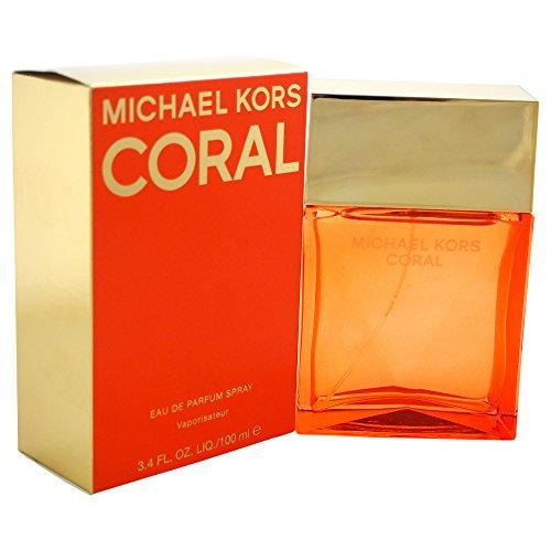 Michael Kors Coral Women's Eau de Parfum Spray, 3.4 Ounce