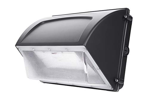 Hyperikon 60W LED Wall Pack, IP65, HPS HID Replacement, 5000K, Outdoor, Garage, Warehouse Light, ETL