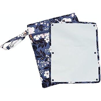 Sarah Wells Pumparoo Wet/Dry Bag for Breast Pump Parts (Le Floral)