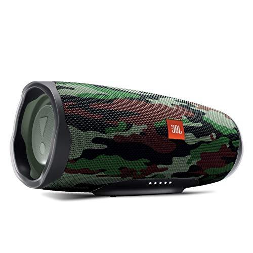 JBL CHARGE4 Bluetoothスピーカー IPX7防水/USB Type-C充電/パッシブラジエーター搭載 スクワッド JBLCHARGE4SQUAD【国内正規品/メーカー1年保証付き】