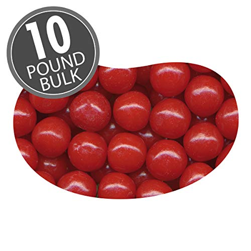 Jelly Belly Cherry Sours - 10 Pounds of Loose Bulk Candy - Genuine, Official, Straight from the Source