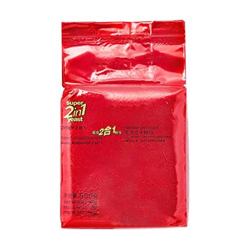 500 g de glucosa baja tolerancia seco instantáneo de levadura en polvo de gran actividad Pan que hace fuentes hornada de la cocina