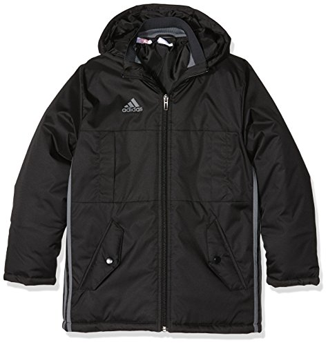adidas Jungen Jacke Condivo 16 Stadion, Black/Vista Grey, 128