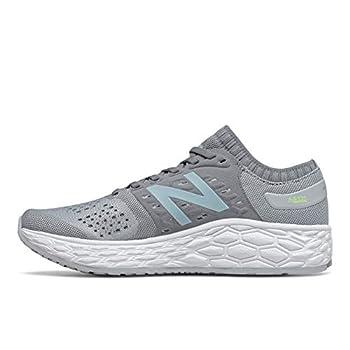 New Balance womens Fresh Foam Vongo V4 Running Shoe Light Aluminum/Lime Glo/Glacier 8.5 US