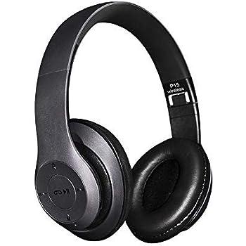 Amazon Com Bluetooth Headphones Wireless Headpohones Clear Good Headgear Wireless 4 1 Headphones Metolic Black Home Audio Theater