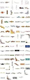 OESD C&C Treasure Chest of Embroidery Machine Designs CD borders 100 DESIGNS