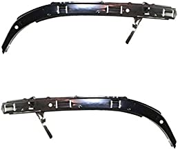 Partomotive For 98-02 Accord Front Bumper Filler Retainer Brace Support Left Right SET PAIR