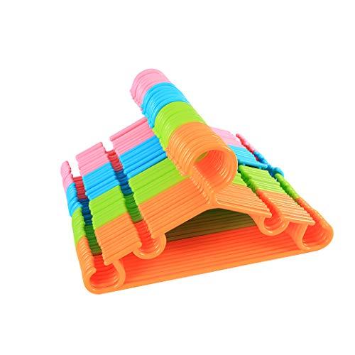sfesnid Grucce Appendiabiti per bambini grucce resistenti per bambini e neonati Set di 40 pezzi 27CM + 3 pezzi Organizzatore