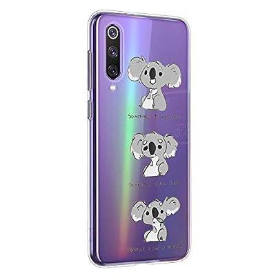Oihxse Compatible con Xiaomi Redmi 6 Funda Cristal Silicona TPU Suave Ultra-Delgado Protector Estuche Creativa Patrón Protector Anti-Choque Carcasa Cover(Pereza A3)