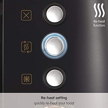 Morphy-Richards-Evoke-4-Scheiben-Toaster-Special-Edition-240114-Schwarz-Rosgold-Vier-Scheiben-Toaster