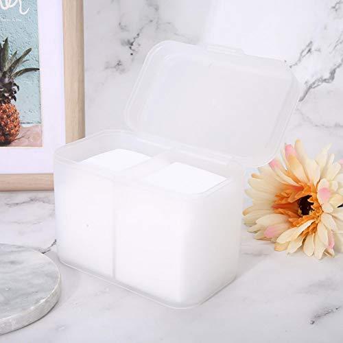 Accesorios para uñas Caja de almacenamiento para decoración de uñas Soporte organizador de maquillaje para el hogar para salón de belleza(Transparent)