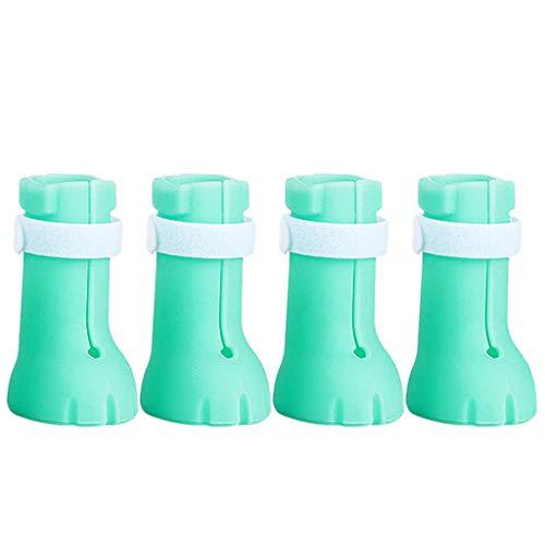 lijun Gato Zapatos antiarañazos Botas Aseo Zapatos para rascar Protector de Patas Cubierta de uñas
