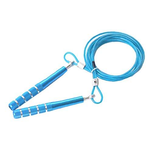 Angoter Springseil Fashion Look Steel Wire Rope Skipping Einstellbar Für Training Boxsport Sport Fast Speed