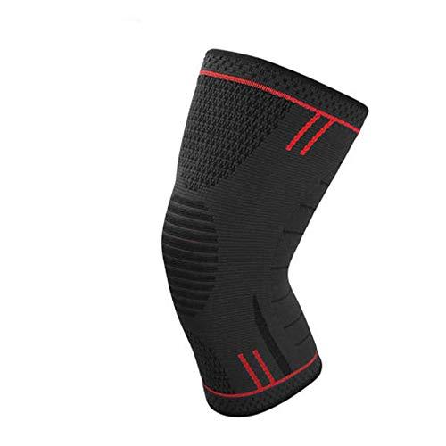 AYEMOY Elastische Kompression Kniebandage Sleeve für Sport - wirkt schmerzlindernd bei Gelenkkrankheiten wie Arthrose, Schützt beim Laufen...