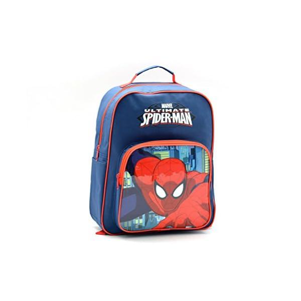 41+A+U8JkgL. SS600  - Spiderman AR649 - Mochila Capacidad 34 x 10 x 30 cm Mochila Infantil 35 cm, Multicolor