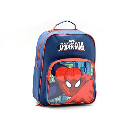 41+A+U8JkgL - Spiderman AR649 - Mochila Capacidad 34 x 10 x 30 cm Mochila Infantil 35 cm, Multicolor