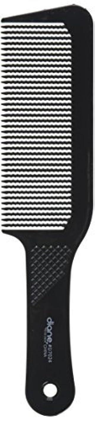 ハンディ鋼ヒップDiane 9.5 Inch Flat Top Clipper Comb Black [並行輸入品]