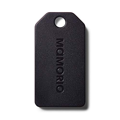 【2019年新モデル】MAMORIO 世界最小クラスの紛失防止タグMAMORIO第三世代 (1個, Charcoal Black)/MAMORIO Spot700路線/AR対応/紛失防止アラート/クラウドトラッキング/性能大幅アップ/
