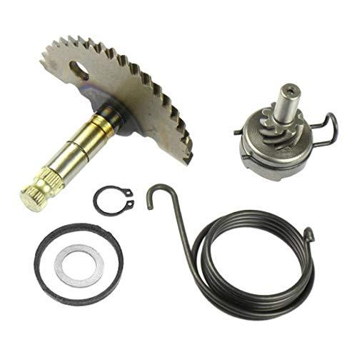 KESOTO Juego de reparación Kick Start, piñón de Onda de Arranque Adecuado para 4-Stroke GY6 50cc/ 80cc ATV Scooter, etc.