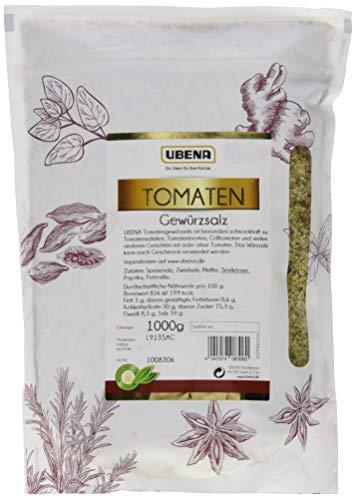 UBENA Tomaten Gewürzsalz im wiederverschließbaren Vorratsbeutel, 2er Pack (2 x 1 kg)