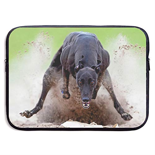 Laptop Sleeve Case Cover Bag, Computer Travel Pocket Pouch Handbag Compatible, Portable Tablet Slipcases Carry Bag for MacBook/HP/Acer/Asus/Dell Cool Dog 13 15 inch
