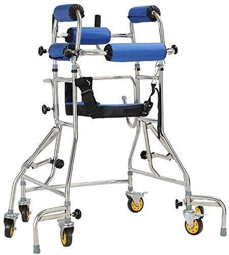 BXU-BG Rollstuhl Adult Walker Elderly Walker Rehabilitation Trainingsgeräte Assisted Untere Extremität Gehen...
