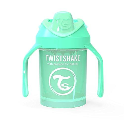 Twistshake 78269 - Vaso con boquilla, color pastel verde