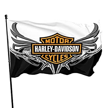 EPIC POETRY Harley Davidson Flag 3x5 FT Outdoor -Camping Flag Decorations Party Supplies,Flags for Home House Outdoor Indoor Decor