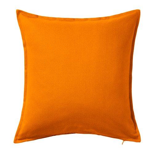 ikea GURLI Federa per cuscino, dimensioni 50 x 50 cm (arancione)