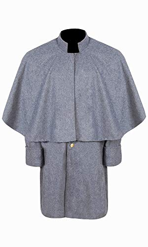 Civil War CS Enlisted Officer's Great Coat (42) Grey