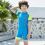 ZMMYD Traje de baño para niños Traje de baño para niños UPF50 Rash Guard Traje de baño para...