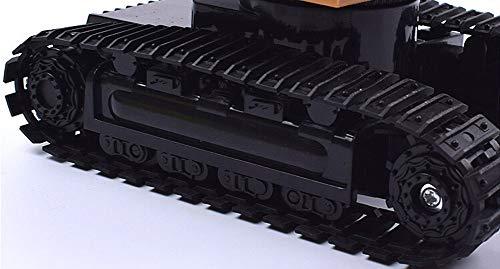 RC Auto kaufen Kettenfahrzeug Bild 5: Elektrischer Bautraktor mit RC Fernbedienung Bagger Modell Spielzeug für Kinder, MMLC 1:24 Bagger Sandkasten Modell Engineering Fahrzeug hohe Simulation Modell Spielzeug Kinder Geschenk (Mehrfarbig)*