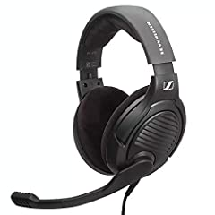 A SENNHEISER STANDOUT, REVAMPED: Based on Sennheiser's top-tier gaming headsets, our Sennheiser PC37X features the same exceptional audio and microphone quality, with some key tweaks to make these headphones even better ANGLED DRIVERS: Made with driv...