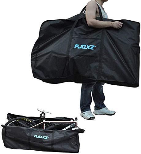Erasky 輪行袋 折りたたみ 自転車トラベルバッグ 輪行袋 ロードバイク自転車 収納バッグ 26インチ1680 D 折りたたみ防水自転車のバッグは荷物の輸送、空の旅に使用されます