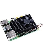 GeeekPi ラズベリーパイ冷却キット、Raspberry Pi 4 冷却ファン + Raspberry Piアルミ製ヒートシンク ラズベリーパイ3 B +&ラズベリーパイ3/2モデルBとも対応