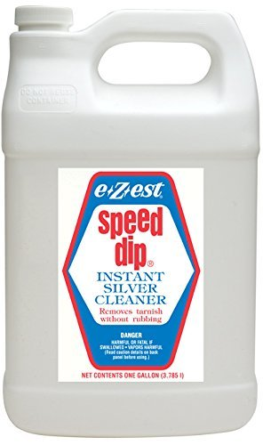 EZEST Speed Dip Instant Silver Cleaner & Tarnish Remover – 1 Gallon Jug