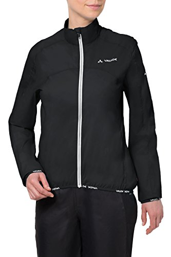 VAUDE Damen Jacke Air Jacket II, Black, 38, 04599
