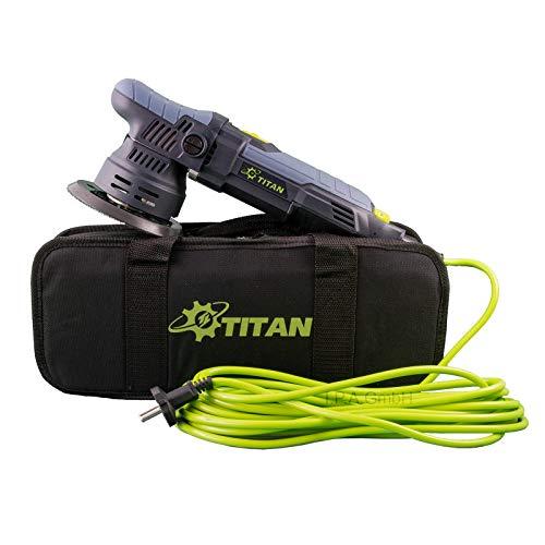 TITAN Exzenterpoliermaschine 9mm Hub TDA09 125mm Polierteller