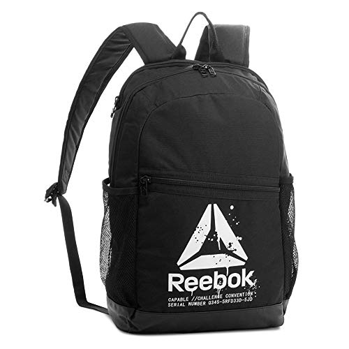Reebok Style Found Active Bp Rucksack, 25 cm, 30 liters, Schwarz (Negro)