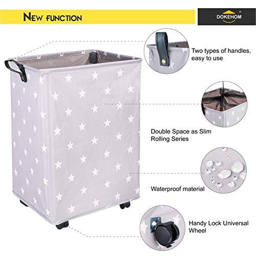 Plegable Bolsa de Lavado de Ropa Bin Gran Servicio de lavander/ía Az/úl Zafiro Eono  Brand 2 Piezas Bolsas Cestos para la Colada