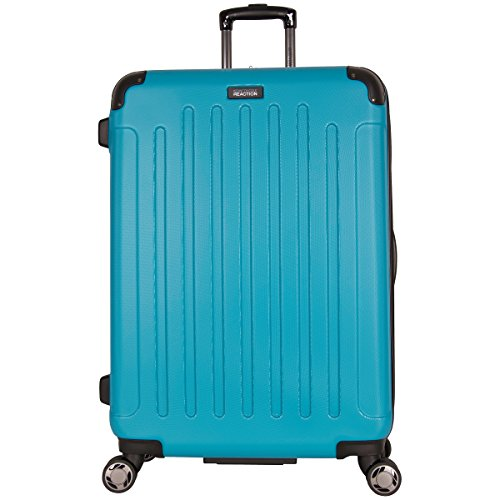 Kenneth Cole Reaction Renegade 28' Hardside Expandable 8-Wheel Spinner Checked Luggage, Teal