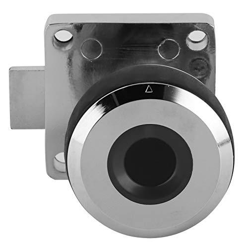 SALUTUY Juego de cerraduras, reconocimiento de Huellas Dactilares de 360 Grados Cerradura de Huellas Dactilares Cerradura de gabinete para gabinetes, cajones, Cajas de Almacenamiento, gabinetes